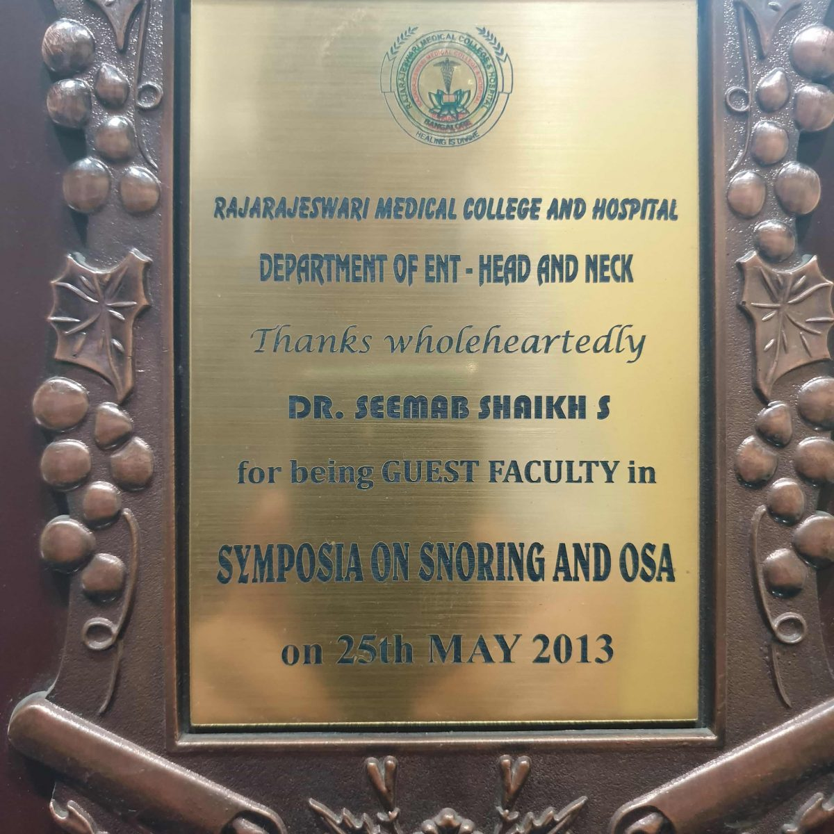Dr. Seemab Shaikh | Snoring Specialist in Pune