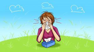 Nasal Allergy|ALLERGIC DISORDERS IN ENT